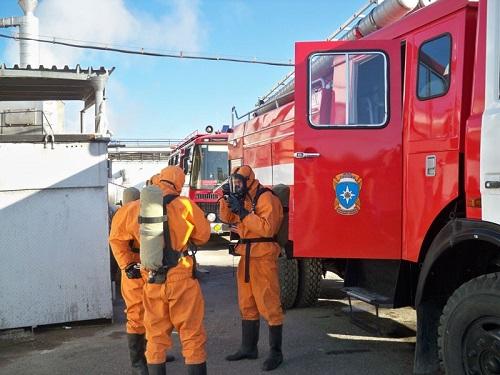 нештатные аварийно-спасательные формирования из числа работников газовой котельной
